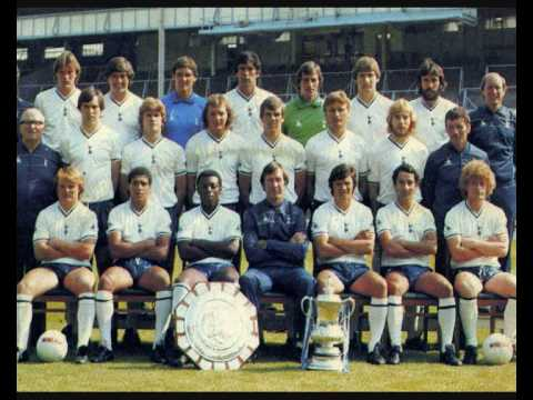 Spurs FA cup win 1982 with Steve perryman